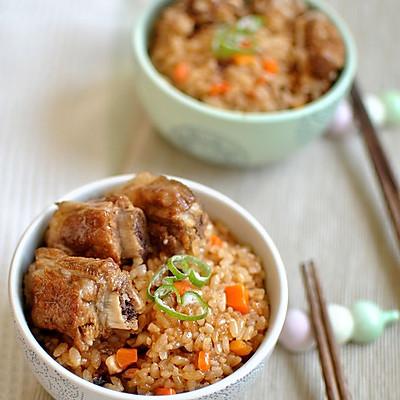 美味懒人饭——排骨焖饭