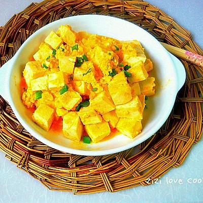 伪装蟹黄豆腐