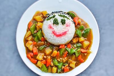 儿童咖喱饭#咖喱萌太奇#