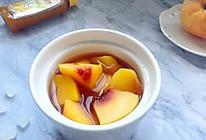 #太太乐鲜鸡汁玩转健康快手菜#简单快手黄桃罐头的做法
