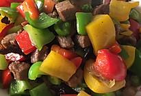 五彩牛肉粒的做法