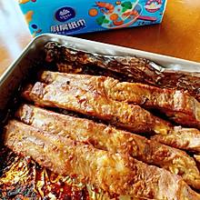 #厨房有维达洁净超省心#能吃光盘的蒜香烤排骨