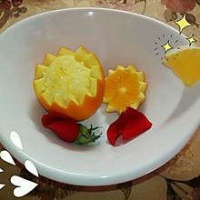 橙子蒸蛋 超详细 不喜欢吃蛋的孩子看过来❤