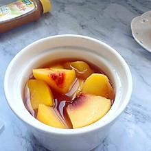 #太太乐鲜鸡汁玩转健康快手菜#简单快手黄桃罐头