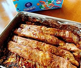 #厨房有维达洁净超省心#能吃光盘的蒜香烤排骨的做法