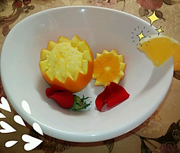 橙子蒸蛋 超详细 不喜欢吃蛋的孩子看过来❤的做法