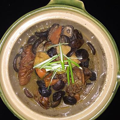 香菇炖鸡翅的做法 步骤10