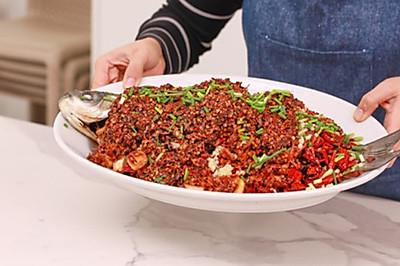 【贵州炝锅鱼】这条草鱼端上桌,三碗米饭不嫌多