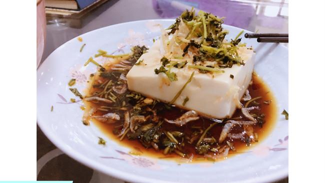 日式凉拌豆腐的做法