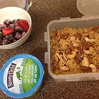 缤纷酸奶杯【满分营养yogurt parfait】的做法图解1