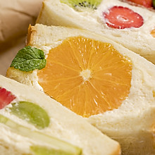 水果三明治丨元氣早餐
