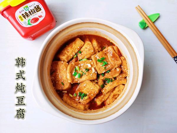 超级简单又下饭的韩式炖豆腐