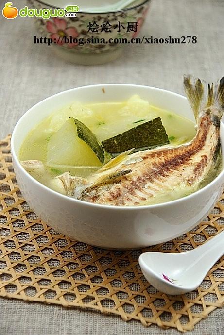 今夏最鲜美的一碗汤:唱歌婆鱼冬瓜汤的做法