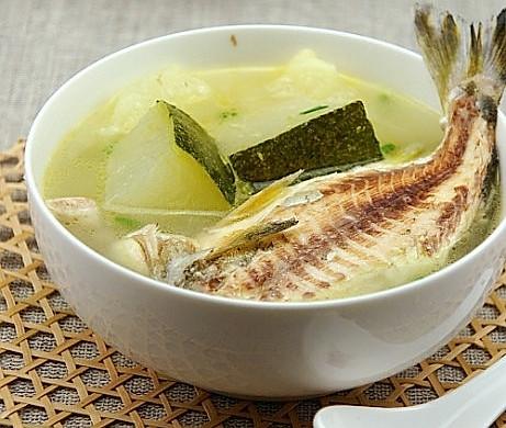 今夏最鲜美的一碗汤:唱歌婆鱼冬瓜汤