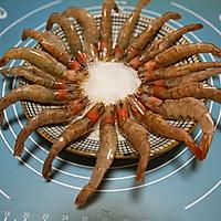 蒜茸粉丝开边虾的做法图解11