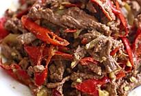 小炒黄牛肉,麻辣鲜香超下饭!的做法