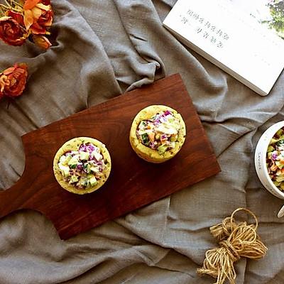 玉米秋葵燕麦杯