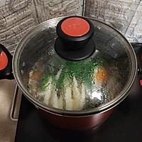 奶白菜蘑菇南瓜汤  #花10分钟,做一道菜!#的做法图解9