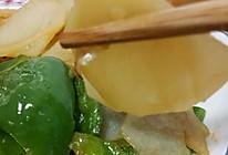 土豆炒柿子椒的做法