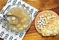 莲子银耳百合糖水的做法