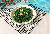 #花10分钟,做一道菜!#蒜炒南瓜尖尖的做法