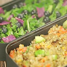 破解模特圈最流行的减肥餐,藜麦沙拉便当