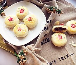 红豆酥饼#福临门好面用芯造#的做法