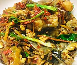 剁椒炒鱼头的做法