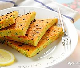黄瓜丝鸡蛋饼 宝宝辅食食谱的做法