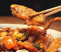 鲜香下饭鸡翅海鲜煲的做法