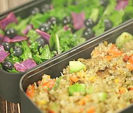 破解模特圈最流行的减肥餐,藜麦沙拉便当的做法