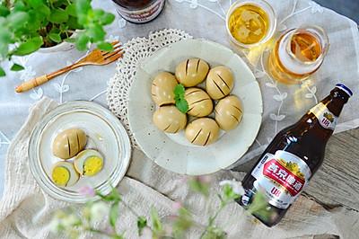 燕京U8啤酒卤蛋