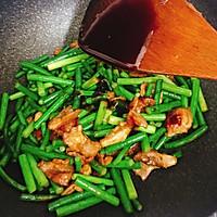 蒜苔炒肉片的做法图解8
