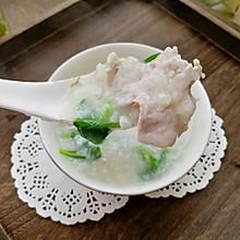 #母亲节,给妈妈做道菜#里脊肉青菜粥