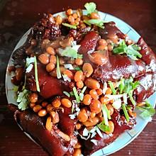 红烧猪蹄(花生黄豆)
