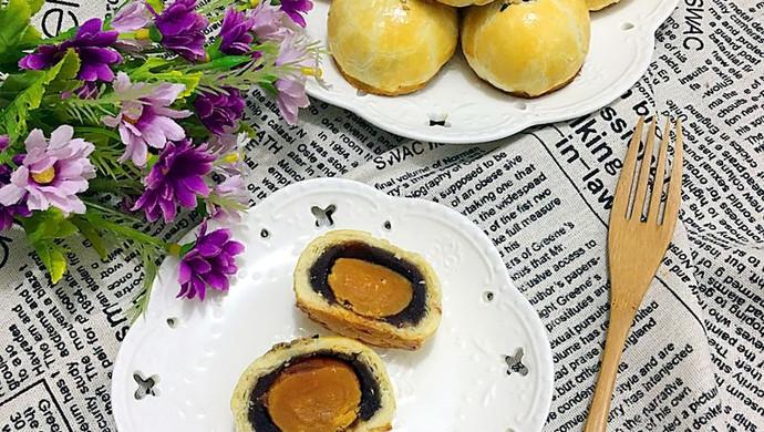 蛋黄酥月饼(黄油版)