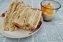 #美食视频挑战赛# 鸡蛋土豆泥三明治的做法