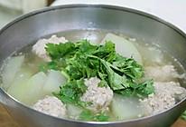 天津家常菜:猪肉冬瓜丸子汤的做法