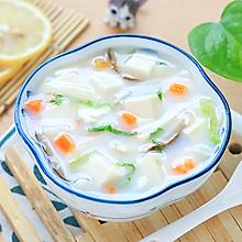 奶香菌菇汤