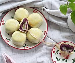 微甜紫薯拉丝仙豆糕-烤箱版的做法