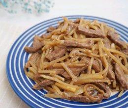 土豆炒牛肉丝的做法