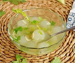 #轻食系王者#虾皮冬瓜汤的做法