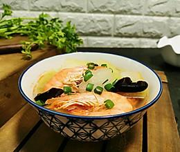 鲜虾冬瓜汤的做法