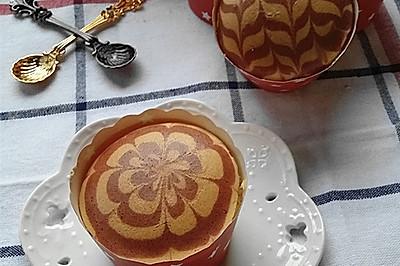 红曲拉花纸杯蛋糕#豆果5周年#