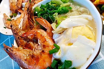 鲜虾仪式面