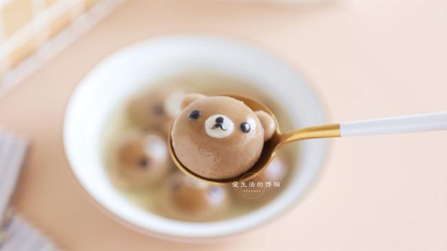 #元宵节美食大赏#小熊汤圆的做法