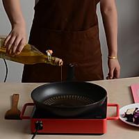 辣肉酱烧茄子的做法图解3