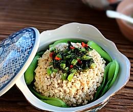 【雪里豆飘香】蛋清拌豆腐的做法