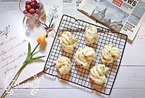 千丝万缕葱油花卷,教你葱花不变黄的小窍门#肉食者联盟#的做法