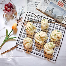 千丝万缕葱油花卷,教你葱花不变黄的小窍门#肉食者联盟#